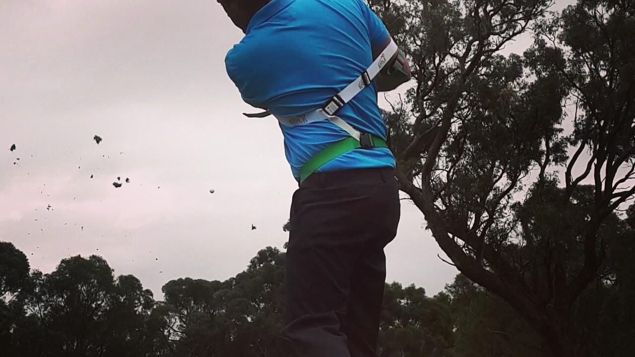 Golf Power Swing Trainer Aid